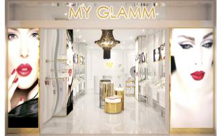 Artistic Impression for My Glamm Concept Store Facade