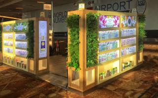 Biotique PopStore at IGIA T3 Terminal - Exterior View
