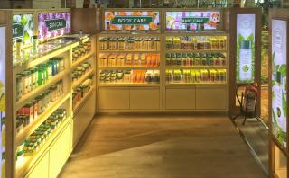 Biotique PopStore at IGIA T3 Terminal - Interior View