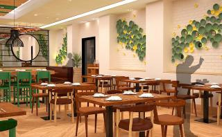 Artistic Impression of the proposed Interiors with Customized artworks