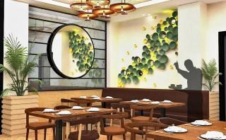 Artistic Impression of the proposed Interiors with Customized artworks and Light Fixtures
