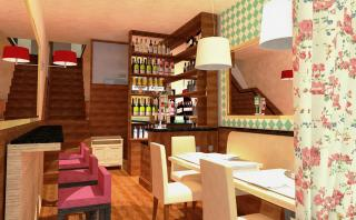 Artistic Impression for the Lower Level Interiors