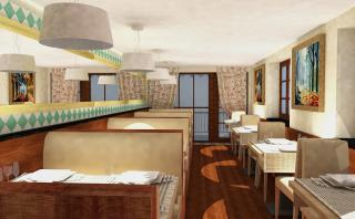 Artistic Impression for the Upper Level Interiors