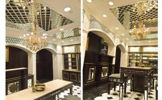 Mirrored Ceiling - Our take on Modern Indian Sheesh Mahal