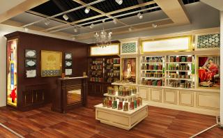 Artistic Impression for Forest Essentials Store, Terminal 1D, Domestic Departure, IGIA, India