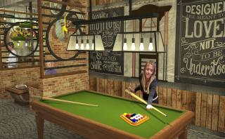 Artistic Impression for the Pool Table Section